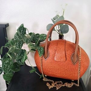 Vintage Woven Clutch by Desenyo Buntal